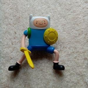 Finn the Human Adventure Time McDonald's Toy